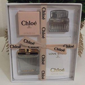 New Chloe mini gift set Chloe/Love story